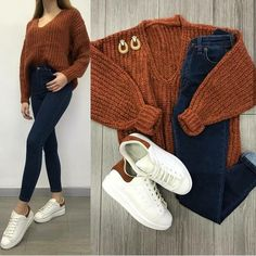 Mixing and matching combo outfits – Just Trendy Girls Uni Outfits, Teenage Girl Outfits, Basic Outfits, Cute Casual Outfits, Winter Fashion Outfits, Modern Outfits, College Outfits, Simple Outfits, Outfits For Teens