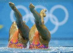 Synchronized Swimming moves
