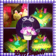 Easter cake and pops