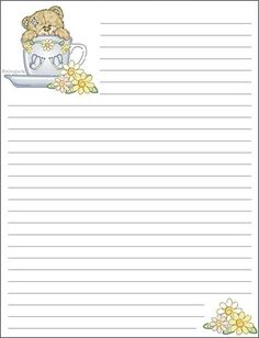 Lined Letter Writing Paper Bld_Joyful_Nl3  Stationary Writing Paper And Journal