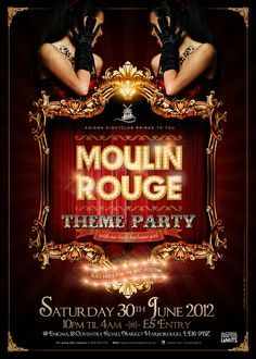 moulin rouge themed ball - Google Search