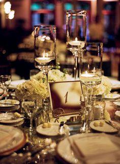 Wedding, Sophisticated, Candlelight