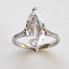 Estate -Rose Cut diamond. New platinum ring from previous ring. Mimi Favre.
