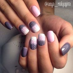 Crochet Nails. Very cute for 2017