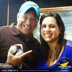 CJ Carlos Javier y Elvia Rosita Borjas todas las mañanas con la mejor música, información vial y todo lo que tu quieres escuchar en #ElSafariDeLasMañanas, por Victoria1039.fm... lunes a viernes (10:00am - 12:00m) #Radiovial #Radio #Programa