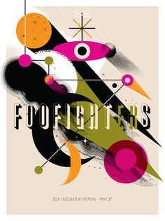 Foo Fighters concert poster at the Sasquatch! Music Festival- May, 2011 Foo Fighters concert poster by Invisible Creature Rock Posters, Band Posters, Concert Posters, Music Posters, Retro Posters, Concert Tickets, Pink Floyd, Foo Fighters Poster, Wasting Light