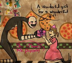 Five Night's At Freddy's 2 - The Puppet by ArmaniaMothe.deviantart.com on…