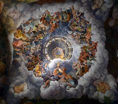 Giulio Romano - The Assembly of Gods around Jupiter's Throne. 1532 - 1534