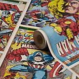 Marvel Marvel Comic Strip Children's Wallpaper   Departments   DIY at B&Q