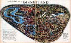 """': """" Here is your first view of Disneyland """""""