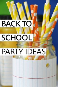 fun ideas for celebrating the start of a new school year
