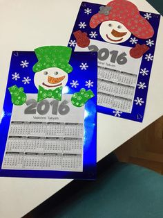 snowman-calender-craft-idea-for-preschoolers-5 | Crafts and Worksheets for Preschool,Toddler and Kindergarten