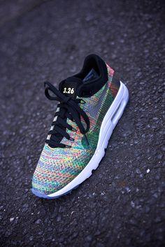 Examples: Nike iD Air Max 1 Flyknit & Air VaporMax 'Multicolour - EU Kicks: Sneaker Magazine