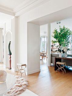Un piso señorial y elegante