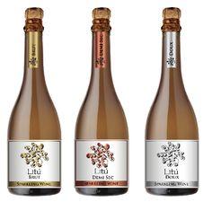 Label Sparkling Wine Litú Marca Privada  Chile