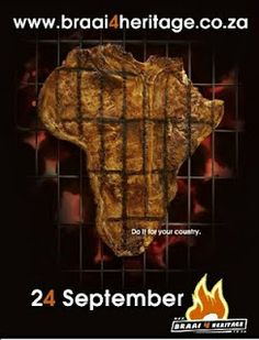 24 September, is Heritage day in South Africa. We braai, most of all, we celebrate our different cultures. African Map, African Theme, Youth Day South Africa, Braai Recipes, 24 September, South African Recipes, Food Videos, Delish, Recipies