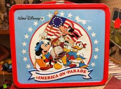 Disney's America on Parade- the Bicentennial box!
