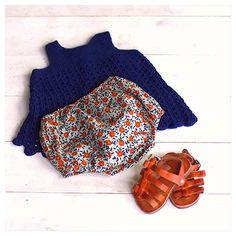Crochet top, bloomer by Bonton - Mor Sine Hjerter