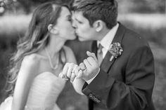 Wedding photo ideas - pinky promise