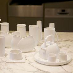 Modern soft, simple daily-use porcelain tea set, tea set, a coffee mug, glass Japanese T605