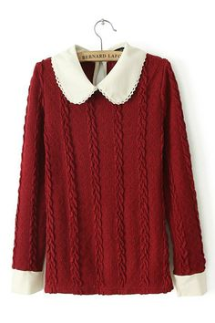 New Western Long Sleeve Vintage Pullover Sweater