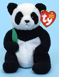 c6e7e6ea58a Manchu - panda bear - Ty Beanie Babies Beanie Baby Bears