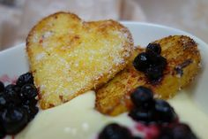 French Toasts with Blueberrys  #French Toast