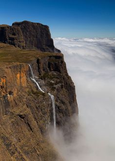 Tugela-Falls-South-Africa The 20 Most Famous Waterfalls In The World