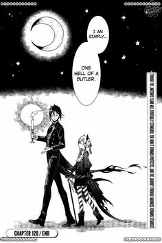 chapter 120: That butler, expressing emotion 11