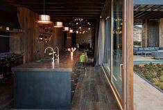 Beautiful single family residence located in Rubielos de Mora, Spain, designed in 2018 by Ramon Esteve Estudio. Vernacular Architecture, Architecture Photo, Amazing Architecture, Modern Architecture, Aragon, Patio Interior, Decor Interior Design, Journal Du Design, Rural House