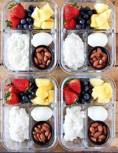Healthy Snacks 22 Breakfast Meal Prep Recipes for an Easy Morning - Who has time to create a healthy, tasty meal at the crack of dawn when all you really want is a liter of coffee. The perfect solution: breakfast meal prep! Healthy Breakfast Recipes, Healthy Drinks, Lunch Recipes, Diet Recipes, Healthy Recipes, Breakfast To Go, Snack Boxes Healthy, Healthy Breakfast Meal Prep, Morning Breakfast
