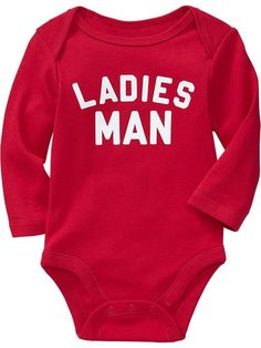 Long-Sleeved Graphic Bodysuits for Baby Product Image