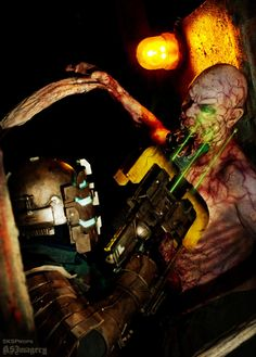 DEAD SPACE Cosplay with Necromorph SKSProps by SKSProps on deviantART