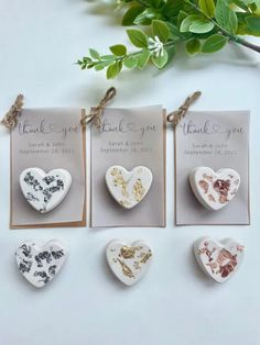 Emmaline Bride - Handmade Wedding Blog Spotted: unique wedding favors that haven't been done 100x before! Thanks to handcrafted artist MaryAndMaya, you can now give these beautiful heart shaped magnets to your guests as take-home favors… Handmade Wedding Blog Gold Wedding Favors, Wedding Favors For Guests, Personalized Favors, Rose Gold Foil, Sarah Johns, Silver Roses, Handmade Wedding, Unique Weddings, Or Rose