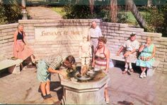 """Fountain of Youth"" in Waterfront Park - Saint Petersburg, Florida"