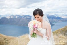 Beautiful Bride - Wanaka mountain wedding, New Zealand - Makeup by Gena Bagley, Photography by @alpineimageco, Wedding Planner www.boutiqueweddingsnz.com Mountain Weddings, Bridal Makeup, Beautiful Bride, New Zealand, Wedding Planner, Boutique, Wedding Dresses, Photography, Fashion