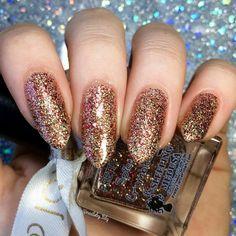 Spice Crumbles | A Scrumptious Pretty Fierce Indie Nail Polish #Nail #Nails