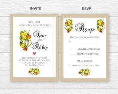 Etsy :: Your place to buy and sell all things handmade Wedding Card Templates, Thank You Cards, Rsvp, Special Occasion, Etsy Seller, Invitations, Words, Creative, Handmade