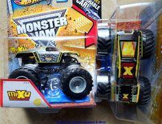2013 Black Maximum Destruction Monster Jam Hot Wheels Truck 10TH Yellow Silver #HotWheels #diecast Monster Jam, Monster Trucks, Destruction, Hot Wheels, Diecast, Yellow, Silver, Ebay, Black