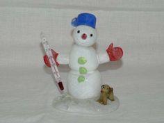 Snowman, Glass, Outdoor Decor, Home Decor, Decoration Home, Drinkware, Room Decor, Corning Glass, Snowmen