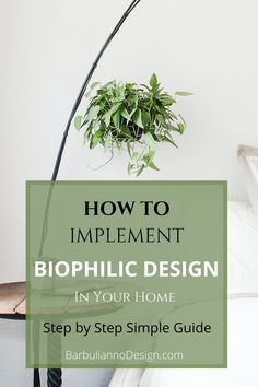 Apply Biophilic Design at your home and feel an immediate connection with nature. The whole idea of Biophilic design is to apply natural principles to your home and by doing so   improve health and well-being.  If that's something that interests you, head on to the article.  #biophilicdesign #wellbeing #interiordesign #greendesign #biophilia #biophilicdesigninteriors