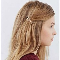 Hair Clip for Women, Fascigirl Vintage Hair Barrettes Hair Pins Moon Triangle Circle Butterfly Hair Clips for Girls Thick Hair Styling Hair Accessories Bobby Pin Hairstyles, Different Hairstyles, Hair Accessories For Women, Gold Accessories, Clothing Accessories, Hair Ornaments, Hair Barrettes, Hair Jewelry, Punk Jewelry