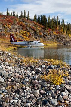 Coppermine River, Nunavut, Canada in the fall. #arctic #Canada #travel