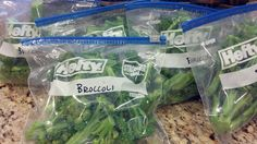 Preserving the Harvest- Peas, Snap Peas & Broccoli