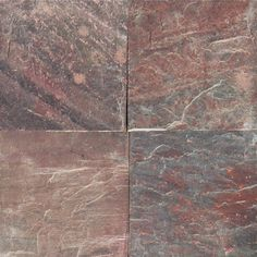MS International Copper Fire 12 in. x 12 in. Honed Quartzite Floor and Wall Tile (10 sq. ft. / case)