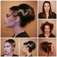 Check out the blog for a tutorial on this Bride of Frankenstein Halloween look by Dahlia! #SQNChicago #iamsine