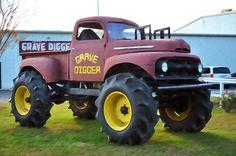 I uploaded new artwork to fineartamerica.com! - 'Monster Truck - Grave Digger 3' - http://fineartamerica.com/featured/monster-truck-grave-digger-3-lanjee-chee.html