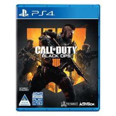 Call of Duty: Black Ops 4 PlayStation 4 Video Game Rated: M Category: First Person Shooter Publisher: Activision Ryse Son Of Rome, Call Of Duty Black Ops, Black Ops 3, Battlefield 3, Xbox One Games, Ps4 Games, Nintendo Games, Games Consoles, Pokemon Go