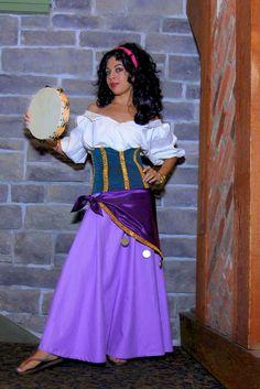 Photo of Momo Kurumi cosplaying Esmeralda (Hunchback of Notre Dame)  sc 1 st  Pinterest & Long Lost Friends Week : Esmeralda Costume Detail | Esmeralda ...
