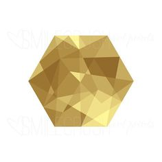 I am loving #hexagons lately. I don't know why. They're just so fun. And when they're in #fauxgold I think they're even better. #artprints #graphicdesign #graphicart #digitalart #goldhexagon #geometricart #smilecrushartprints by smilecrush